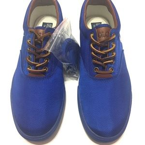 polo ralph lauren vaughn shoes canvas sz 12D NWOT
